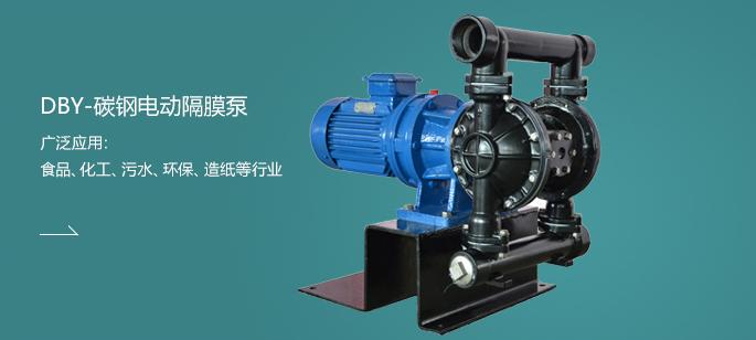 DBY-碳钢电动隔膜泵