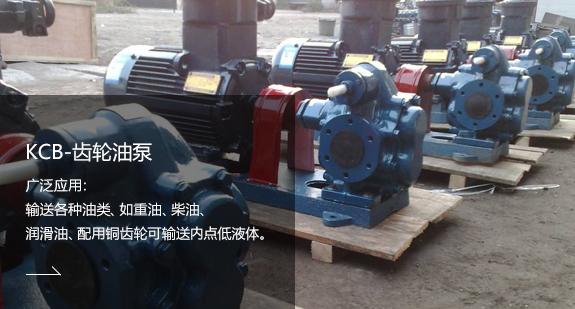 KCB-齿轮油泵