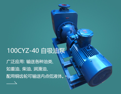 100CYZ-40 自吸油泵