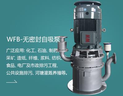 WFB-无密封自吸泵